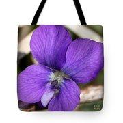Woody Blue Violet Tote Bag