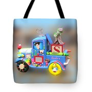 Woody Wagon Tote Bag