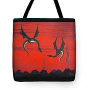 Wooing Dragons Tote Bag