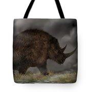 Woolly Rhinoceros Tote Bag