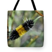 Woolly Worm In Yellowstone National Park Tote Bag