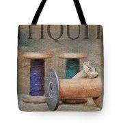 Woolrich Woolen Mill Spools Tote Bag