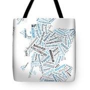 Wordcloud Of Scotland Tote Bag