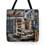 Work Station Machinst Style Tote Bag