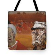 Workers In The Fields Tote Bag