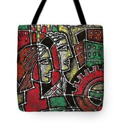Industrial Composition Tote Bag