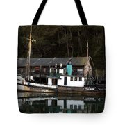 Working Boat Tote Bag by Bill Gallagher