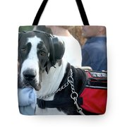Working Dog Quite Please Tote Bag