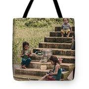 Working Girls Tote Bag
