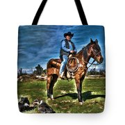 Working The Ranch Tote Bag