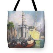 Working Waterfront Tote Bag