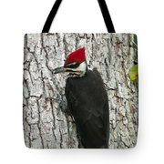 Working Woodpecker Tote Bag