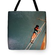 Works On The Atlantic Oceon Late Eightieth Tote Bag