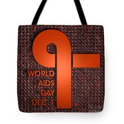 World Aids Day Tote Bag
