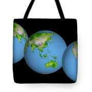 World Globes Tote Bag