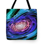 World In His Hands Tote Bag
