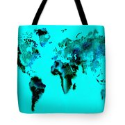 World Map 15 Tote Bag