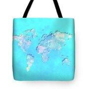 World Map 1b Tote Bag