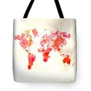 World Map 1h Tote Bag