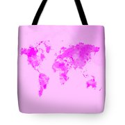 World Map 1n Tote Bag