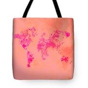 World Map 1p Tote Bag