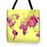 World Map 1t Tote Bag