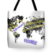 World Map Cool Tote Bag