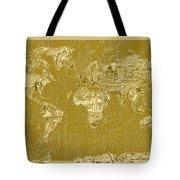 World Map Landmark Collage 10 Tote Bag