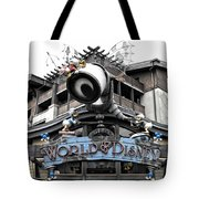 World Of Disney Signage Downtown Disneyland Sc Tote Bag