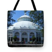 World Of Plants Building At The New York Botanical Gardens Tote Bag