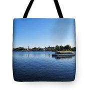 World Showcase Lagoon Walt Disney World Tote Bag