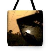 World Through Horror Glasses Tote Bag