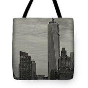World Trade Center Construction Tote Bag
