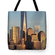 World Trade Center Freedom Tower Nyc Tote Bag