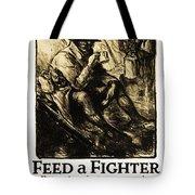 World War 1 - U. S. War Poster Tote Bag by Daniel Hagerman