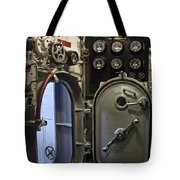 World War 2 Era Submarine Hatch - Pearl Harbor Tote Bag