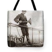 World War I Air Raid Siren Tote Bag