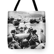 World War II: D-day, 1944 Tote Bag