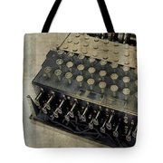 World War II Enigma Secret Code Machine Tote Bag