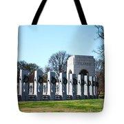 World War II Memorial Tote Bag