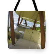 World War One Classic 1916 Sopwith Pup Biplane Tote Bag