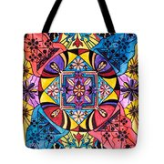 Worldly Abundance Tote Bag by Teal Eye  Print Store