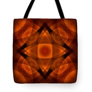 Worlds Collide 15 Tote Bag