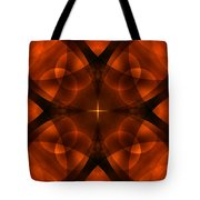 Worlds Collide 16 Tote Bag