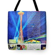 Worlds Fair 1962 Tote Bag