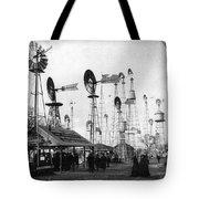 World's Fair Windmills Tote Bag