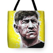 Worlds Greatest Athlete Tote Bag by Chris Mackie