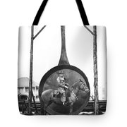 World's Largest Frying Pan Tote Bag