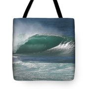 World's Most Perfect Wave . . . Tote Bag