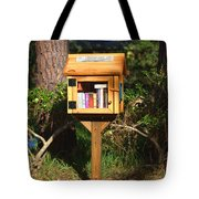 World's Smallest Library Tote Bag